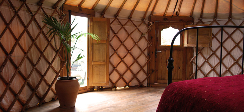 Yurt doors and windows