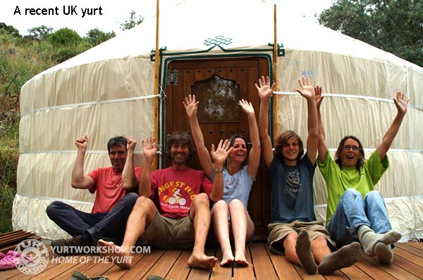 UK Yurt from the Yurt Workshop