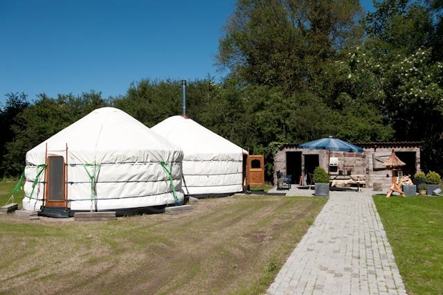 Yurt Pods In Holland