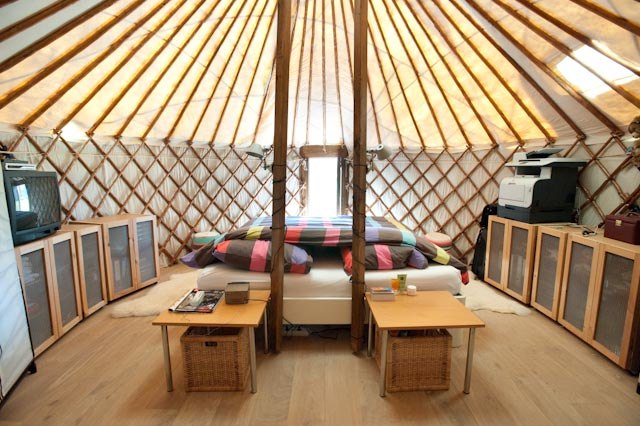 Good Yurt Pod Bedroom. Mongolian ...