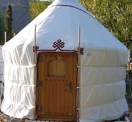 Massage Yurt