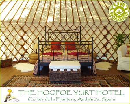 Hoopoe Yurt Hotel Spain